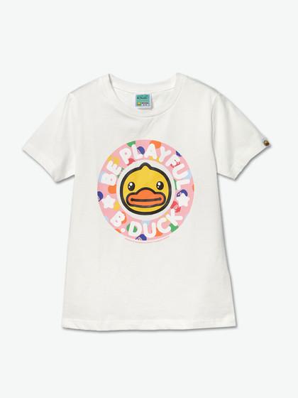 t恤|b.duck 卡通logo