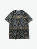 oniarai|鬼洗|男款|T恤|鬼洗 地藏系列電影負片短袖T恤