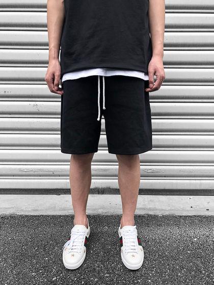 itsclimax|itsclimax|男款|短裤|itsclimax 罗马系带纯色短裤