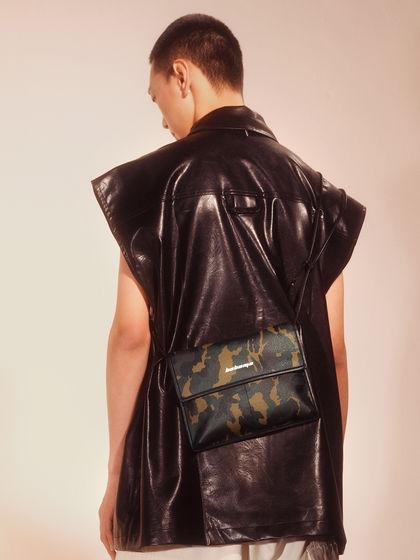 男款|手拎包/單肩包|BABAMA 迷彩mini斜挎包