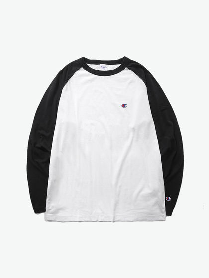 CHAMPION|CHAMPION|男款|T恤|CHAMPION RAGLAN LONG SLEEVE T-SHIRT