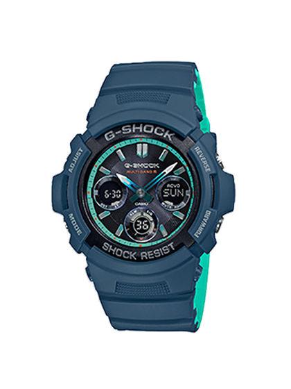 G-SHOCK|卡西歐手表|男款|手表|G-SHOCK 炫色街頭系列多功能防水男表  AWG-M100SCC-2APR