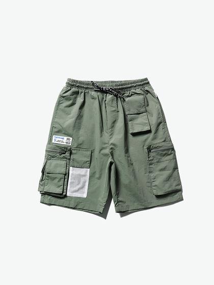 THETHING 男款 短褲 THETHING 多袋貼標工裝短褲