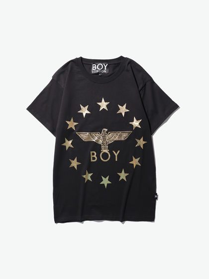 BOY LONDON|男款|T恤|BOY LONDON  LOGO图案印花短袖T恤