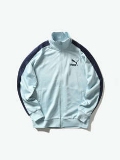 PUMA|男|PUMA Iconic T Track Jacket PT Light Sky 男子拼接外套