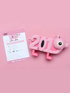 "YO!GALLERY|男|女|YO!GALLERY X Jeremyville - ""Year of the pig!"" 潮流艺术限定版玩具"