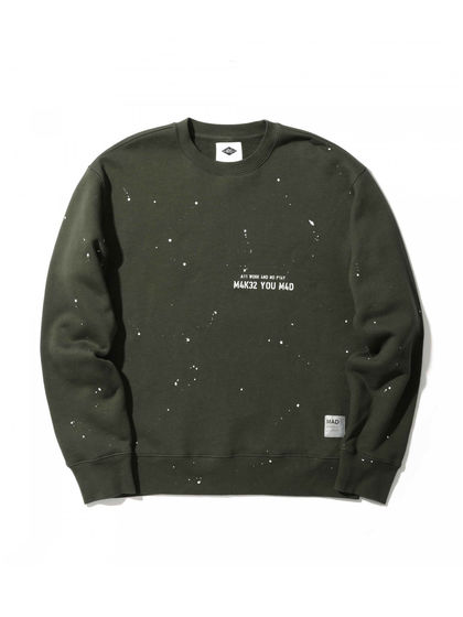 MADNESS|MADNESS|男款|卫衣|MADNESS PAINT SPLATTER SWEATER