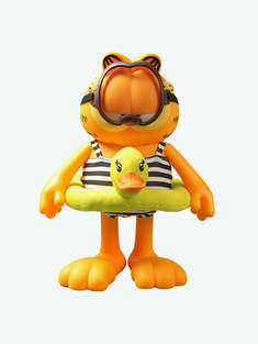 ZCWO|男|ZCWO 加菲猫系列 Garfield -12 Swimming(Black)