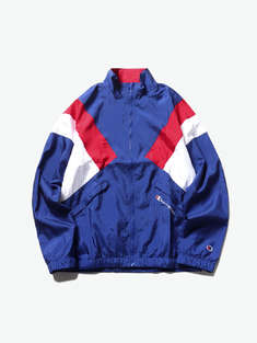 CHAMPION|男|CHAMPION Nylon Warm Up Jacket