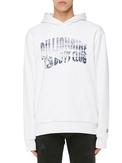 BILLIONAIRE BOYS CLUB|BILLIONAIRE BOYS CLUB|男款|卫衣|BILLIONAIRE BOYS CLUB 连帽LOGO印花卫衣