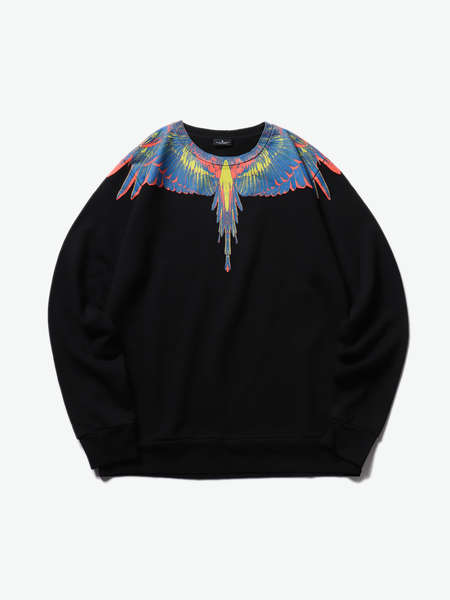 MARCELO BURLON|MARCELO BURLON|女|卫衣|MARCELO BURLON  WINGS REGULAR CREWNECK
