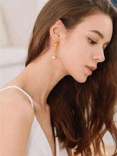 I.A.M. ATELIER|女|I.A.M. ATELIER Self-Indulgence Earrings