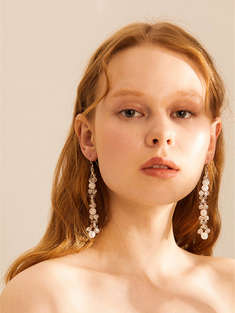 I.A.M. ATELIER|女|I.A.M. ATELIER Blurry Glace Earrings