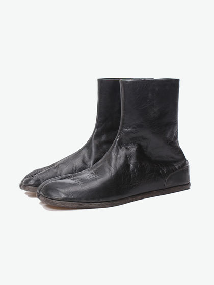 Maison Margiela|Maison Margiela|男款|靴子|Maison Margiela  Vegetable Goat Leather;TABI ANKLE FLAT